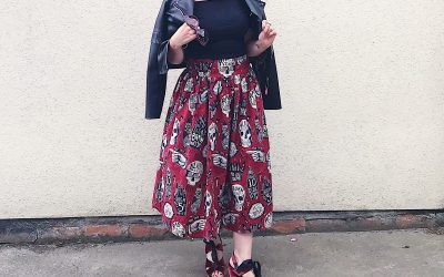 Personal style – rad to the bone skirt