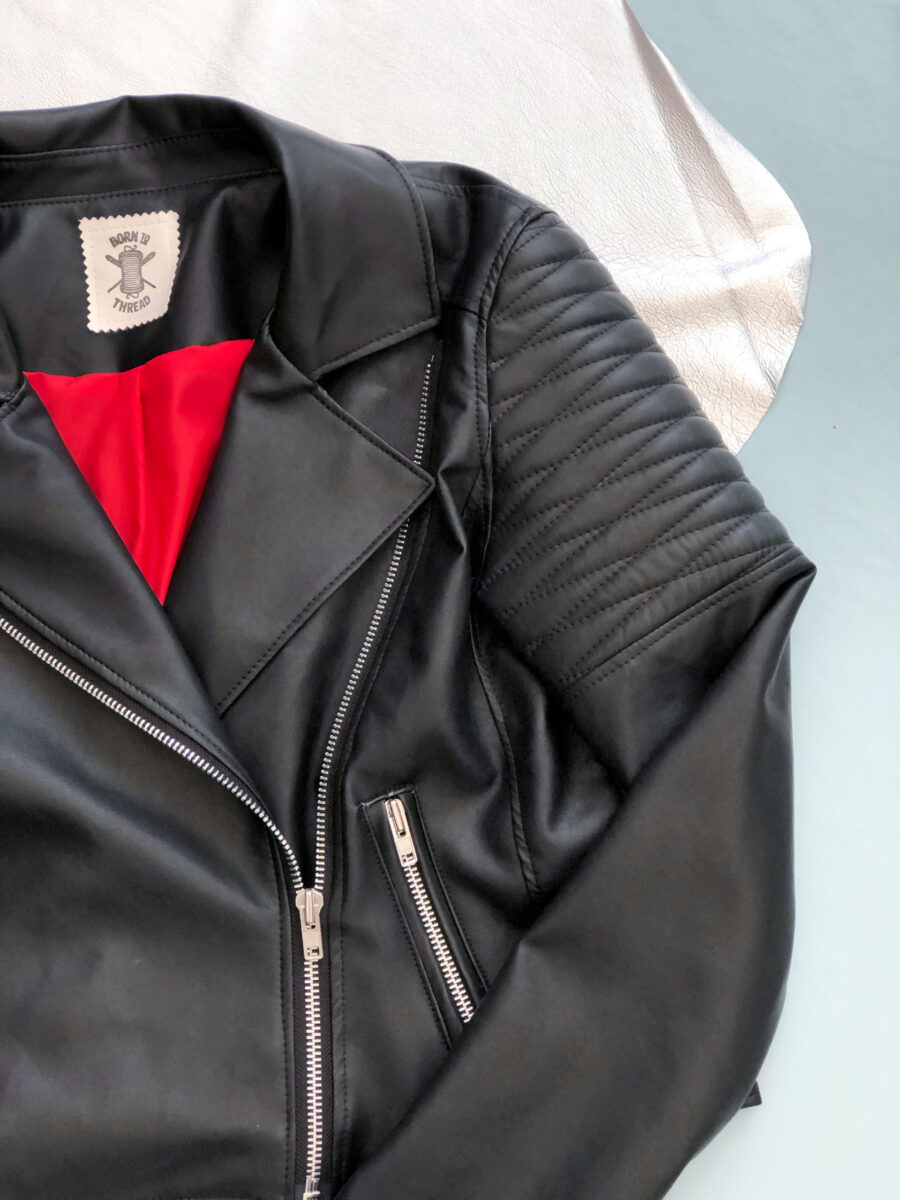 Handmade Couples Matching Biker Jackets With Large Customised Back Patch