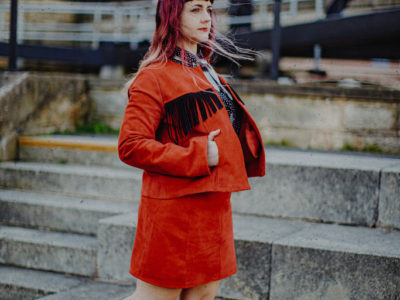 red western fringe jacket